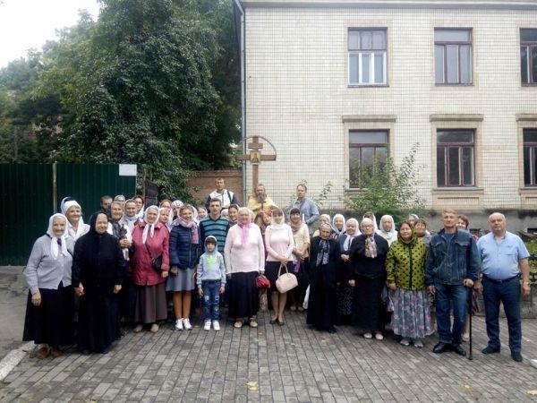 Состоялся крестный ход до места церкви святой  Марии Магдалины
