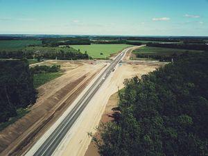 Нарешті завершується будівництво автомобільної дороги в обхід Знам'янки (ФОТО)