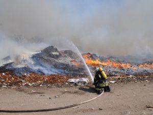 Кропивницький: Екостайл пояснює причини учорашньої пожежі на сміттєзвалищі (ВІДЕО)