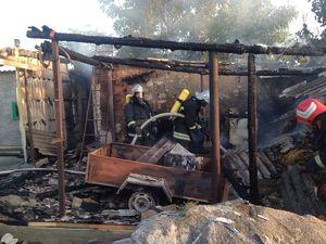 На Кіровоградщині під час пожежі 50-річний чоловік отримав опіки