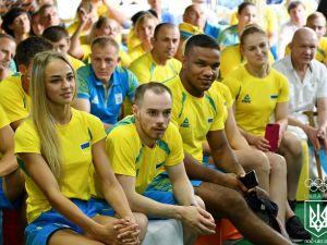 Украинская сборная отправилась на Европейские игры