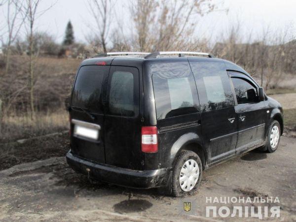 На Кіровоградщині поліція затримала чоловіка, який угнав авто