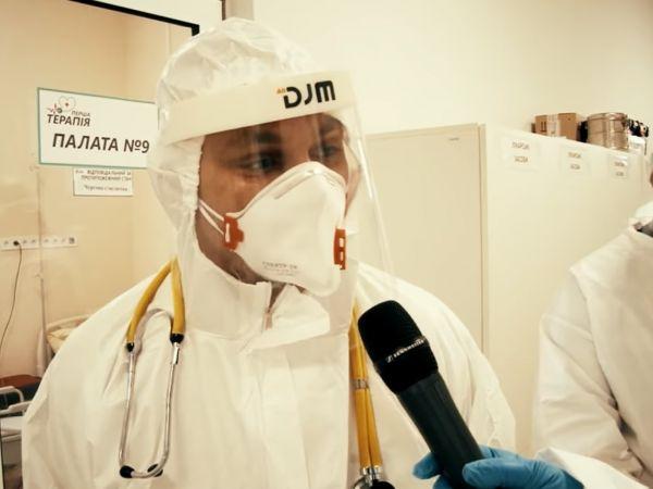 Кропивницька міська рада демонструє відео з ковідних відділень лікарень