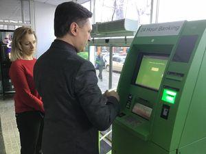 Перші два нові банкомати з функцією Cash Recycling з'явилися у Кропивницькому