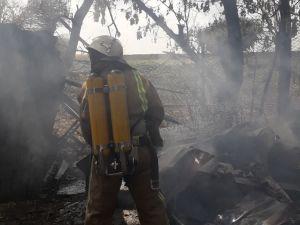 Пожежники Кіровоградщини здолали шість займань на території приватних будинків