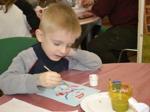 Кропивницький: Найменші читайлики створювали казки і малювали Сніговика (ФОТО)