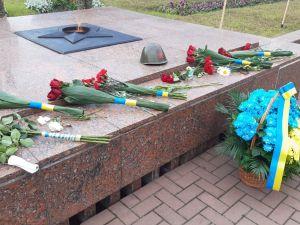 Кропивницький: містяни вшановують пам'ять жертв війни (ФОТО)