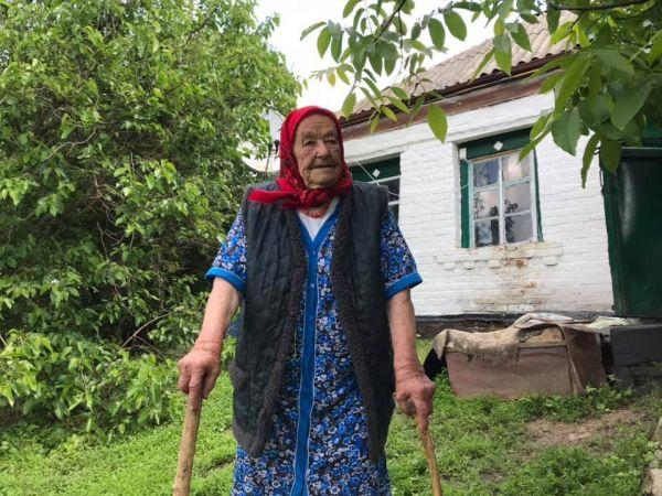 Кіровоградщина: Сторічна мешканка Турії розповідає про голод у своєму селі (ВІДЕО)