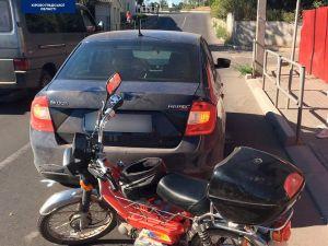 У Кропивницькому мотоцикліст спричинив ДТП