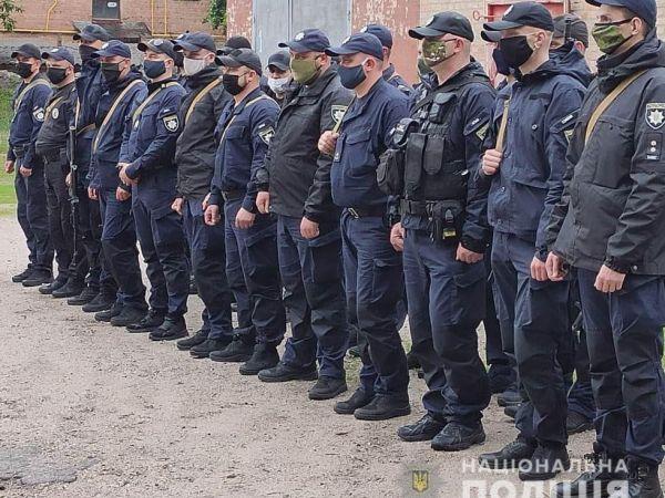 Загін поліцейських Кіровоградщини вирушив на схід України