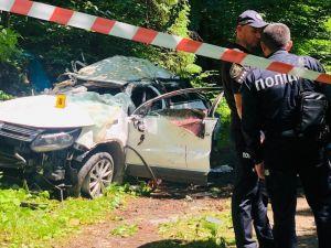В ДТП на Прикарпатье погибли двое жителей Кропивницкого