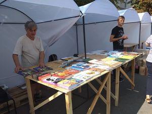 У центрі Кропивницького два десятка видавництв України розпочали книжковий фестиваль