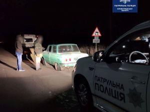 Патрульна поліція затримала водія на краденій автівці
