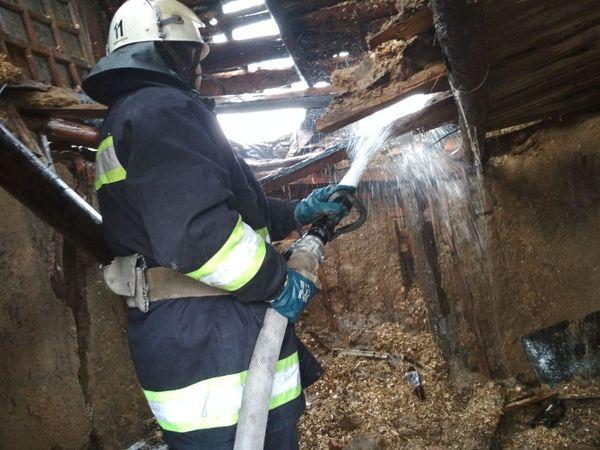 Кіровоградська область: У підвалі багатоповерхівки загорілося сміття