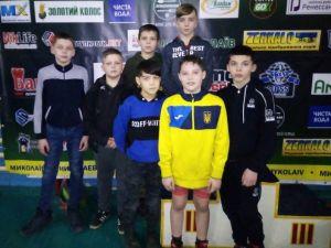 Кропивницькі борці здобули медалі на Всеукраїнському турнірі