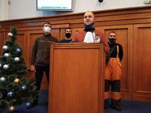 Кіровоградщина: Депутати обласної ради підтримали звернення шахтарів до кабміну