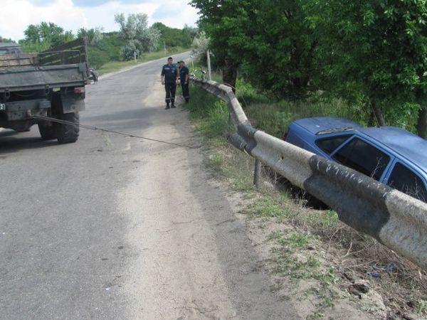 Смертельна ДТП. На Кіровоградщині водій Daewoo Nexia злетів у річку