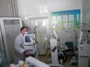 У міську лікарню завезли нові апарати вентиляції легень