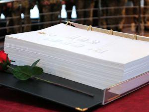 У Верховній Раді презентували Перше видання Книги пам'яті добровольців