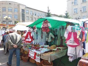 У центрі Кропивницького розгорнувся святковий ярмарок (ФОТО)