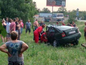 У Кропивницькому сталася аварія з постраждалими (ФОТО)