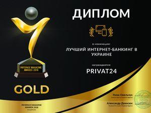 Українці назвали Приват24 найкращим онлайн-банком року