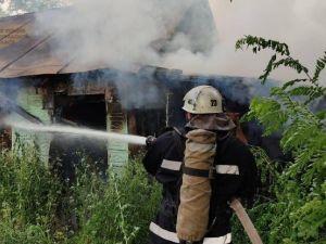 Кіровоградщина: В селі Хмельове зайнявся сарай
