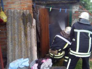 Кіровоградська область: вогнеборці загасили п'ять пожеж у житловому секторі