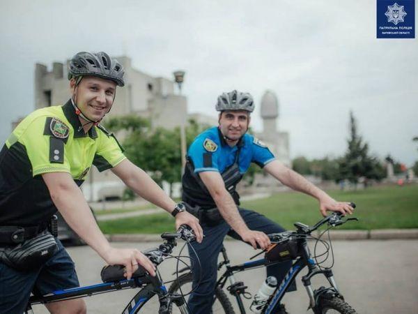 Кропивницький: Поліція нагадує про правила поведінки велосипедистів