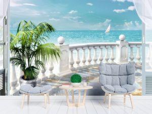 Фотообои как элемент декора балкона и лоджии. Полезные советы