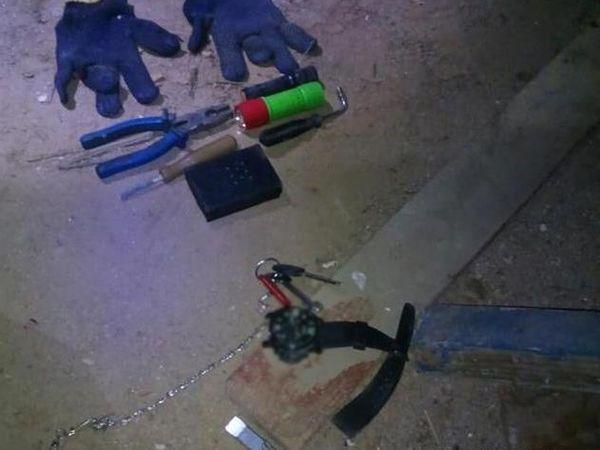 Поліція охорони спіймала крадія телефонного кабелю у Кропивницькому