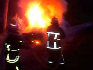 В Кіровоградській області зайнялися авто, дах та сінник