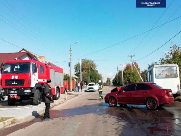 Кропивницький: На Ушакова п'яний водій спричинив ДТП