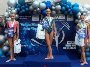 Гімнастки з Кропивницького вибороли тринадцять нагород