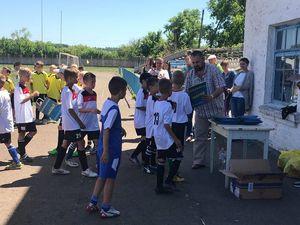 На Кіровоградщині свободівці провели дитячий футбольний турнір (ФОТО)