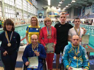 Кропивницькі плавці здобули на чемпіонаті України шість медалей