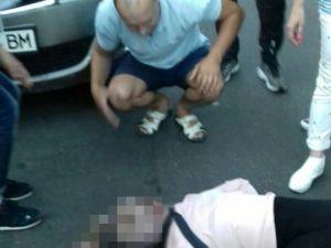Дівчина, яку збила машина в центрі Кропивницького, у задовільному стані - лікарі