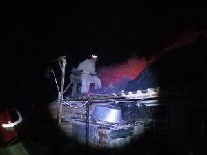 Компаніївський район: Вогнеборці загасили пожежу у житловому секторі