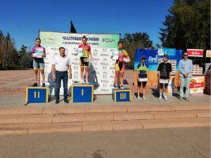 Велосипедисти з Кропивницького вибороли дві медалі на  чемпіонаті України