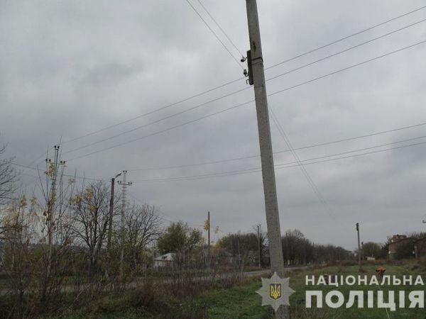 На Новоукраїнщині затримали викрадача кабелю та ліній зв'язку