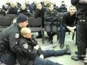 Патрульні поліцейські Кропивницького пройшли  тренінг із домедичної допомоги