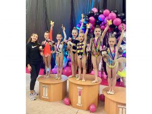 Юні кропивницькі гімнастки успішно виступили на всеукраїнському турнірі