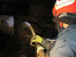 У Кропивницькому у п'ятиповерхівці загорілася електрощитова