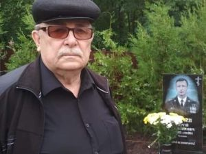 Кропивницький: Відійшов у засвіти батько полеглого підполковника Сергія Сєнчева