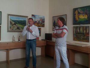 Двадцять художників з усієї України представили своє бачення Кропивницького (ФОТО)