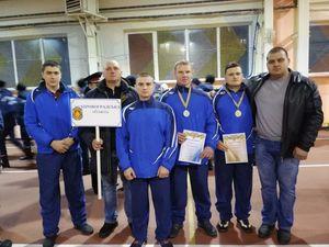 Рятувальники з Кіровоградщини  виступили на Чемпіонаті ДСНС  з гирьового спорту