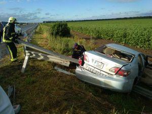 На Кіровоградщині в аварії загинула жінка