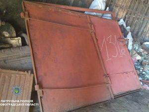 По вулиці Михайлівська злодії посеред дня вкрали ворота (ФОТО)