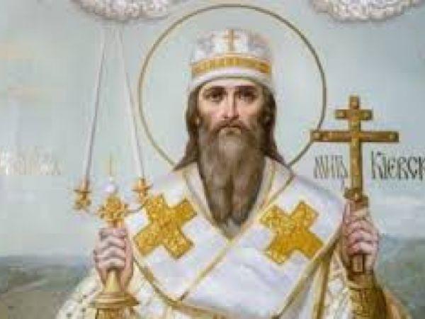 Православна Церква вшановує пам'ять першого митрополита Київського святителя Михаїла