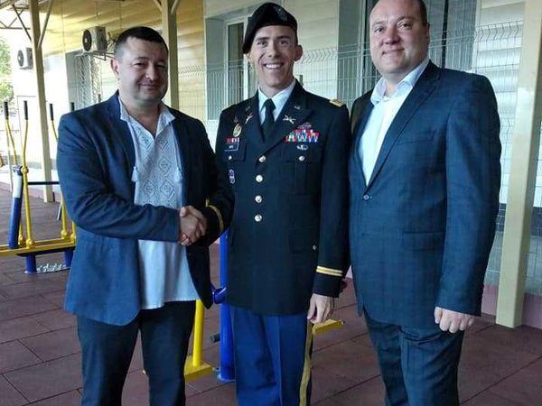 Кропивницький: В обласному госпіталі для ветеранів відкрили реабілітаційний майданчик